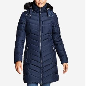 Eddie Bauer Sun Valley Down Parka in navy